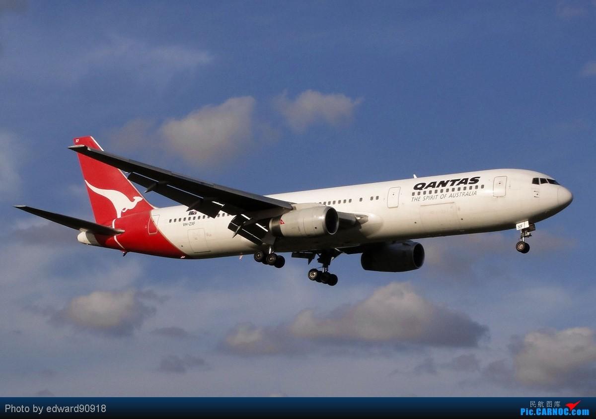 Re:[原创][SYD&TSV联合公报] 热烈庆祝kmwangchen同学名草有主 QFA阖家偕同神秘嘉宾前来祝福 BOEING 767-336 VH-ZXF 澳大利亚悉尼金斯福德·史密斯机场