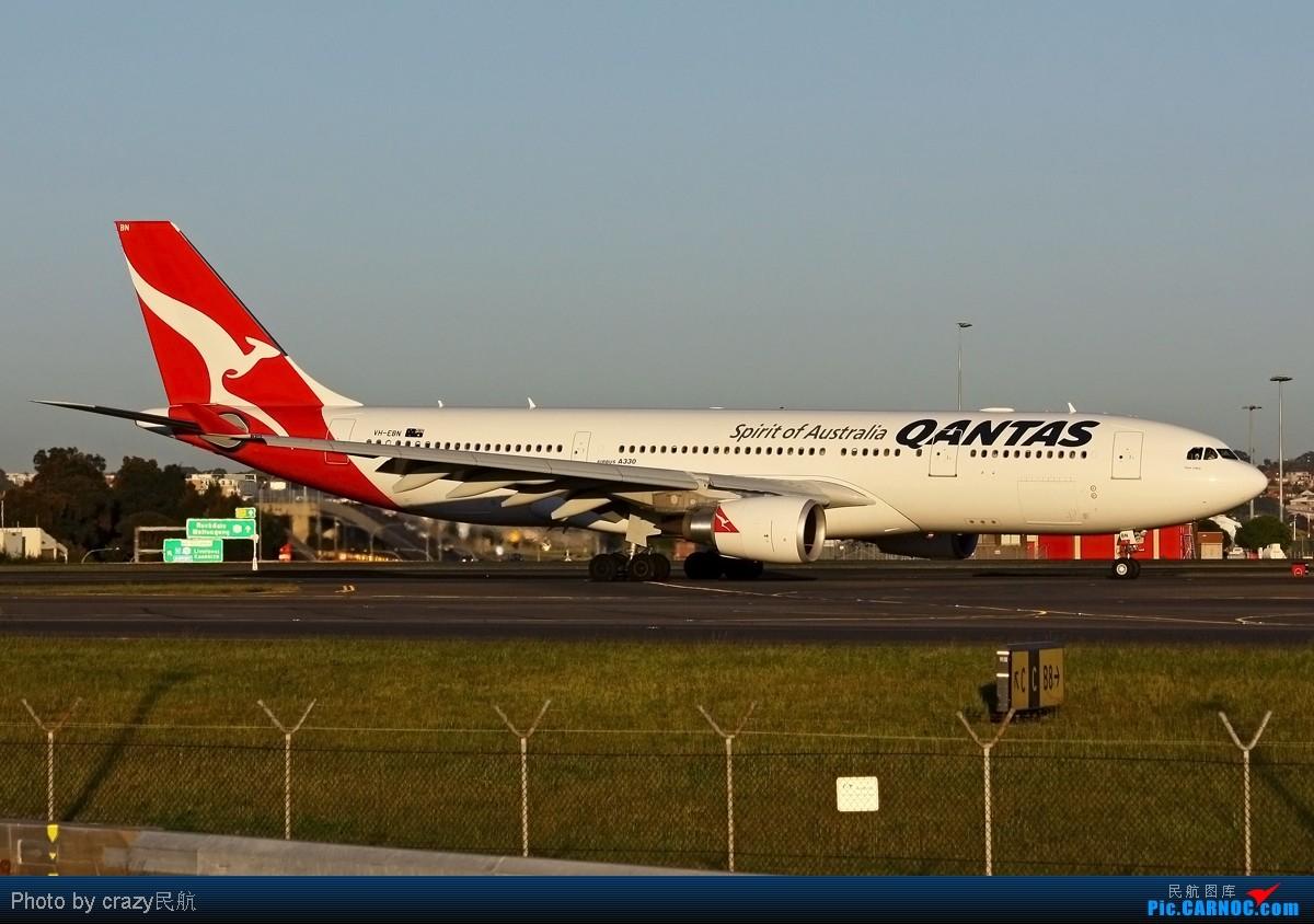 Re:[原创][SYD&TSV联合公报] 热烈庆祝kmwangchen同学名草有主 QFA阖家偕同神秘嘉宾前来祝福 AIRBUS A330-300 VH-EBN 澳大利亚悉尼金斯福德·史密斯机场