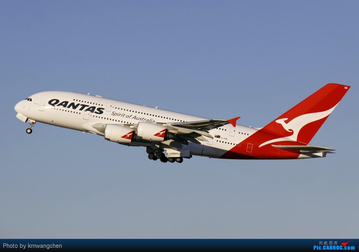 Re:[原创][SYD&TSV联合公报] 热烈庆祝kmwangchen同学名草有主 QFA阖家偕同神秘嘉宾前来祝福 AIRBUS A380-842 VH-OQB 澳大利亚悉尼金斯福德·史密斯机场