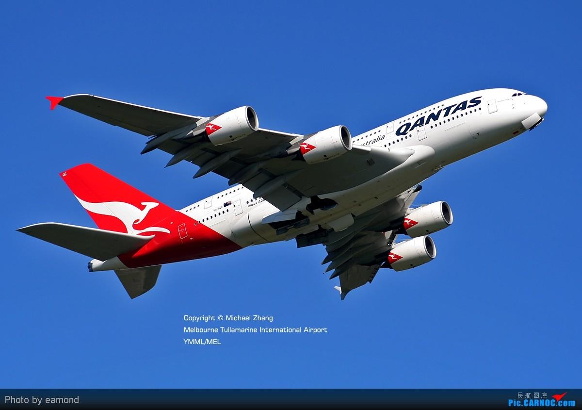 Re:[原创][SYD&TSV联合公报] 热烈庆祝kmwangchen同学名草有主 QFA阖家偕同神秘嘉宾前来祝福 AIRBUS A380-842 VH-OQE 澳大利亚墨尔本机场