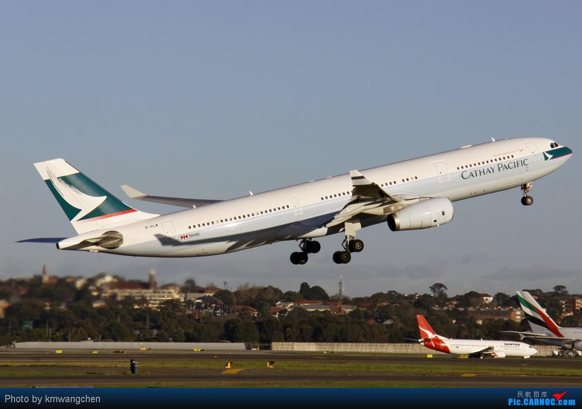 Re:[原创][SYD&TSV联合公报] 热烈庆祝kmwangchen同学名草有主 QFA阖家偕同神秘嘉宾前来祝福 AIRBUS A330-300 B-HLW 澳大利亚悉尼金斯福德·史密斯机场