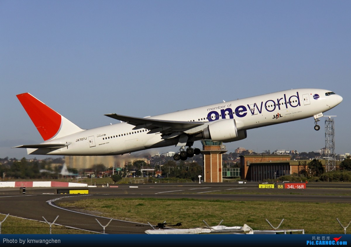 Re:[原创][SYD&TSV联合公报] 热烈庆祝kmwangchen同学名草有主 QFA阖家偕同神秘嘉宾前来祝福 BOEING 777-200/ER JA707J 澳大利亚悉尼金斯福德·史密斯机场