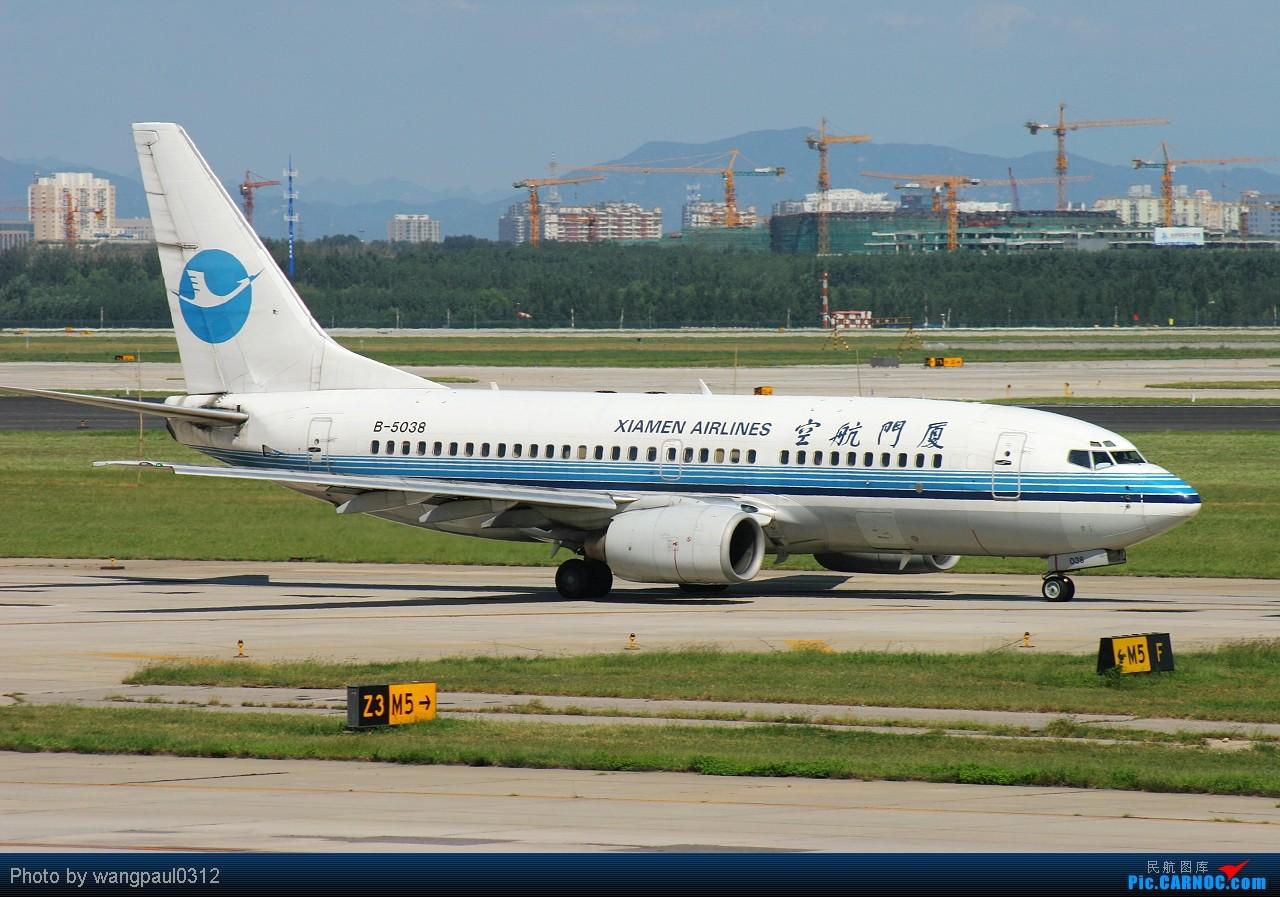 Re:[原创]★★★全套737系列,包括首都机场很难见到的CHINA AIR FORCE★★★ BOEING 737-700 B-5038 北京首都国际机场