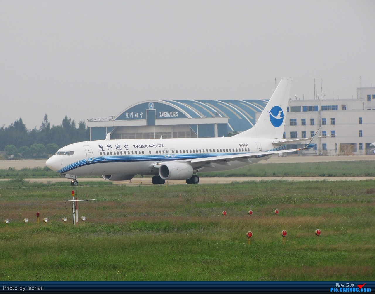 Re:[原创]03头……好久不见! BOEING 737-800 B-5529 中国福州长乐机场