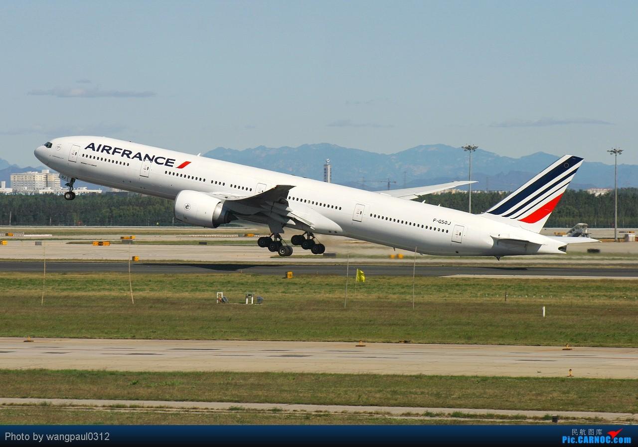 以三条七为今日的主旋律--另外附送一首地道的英伦风格歌曲! BOEING 777-328ER F-GSQJ 北京首都国际机场
