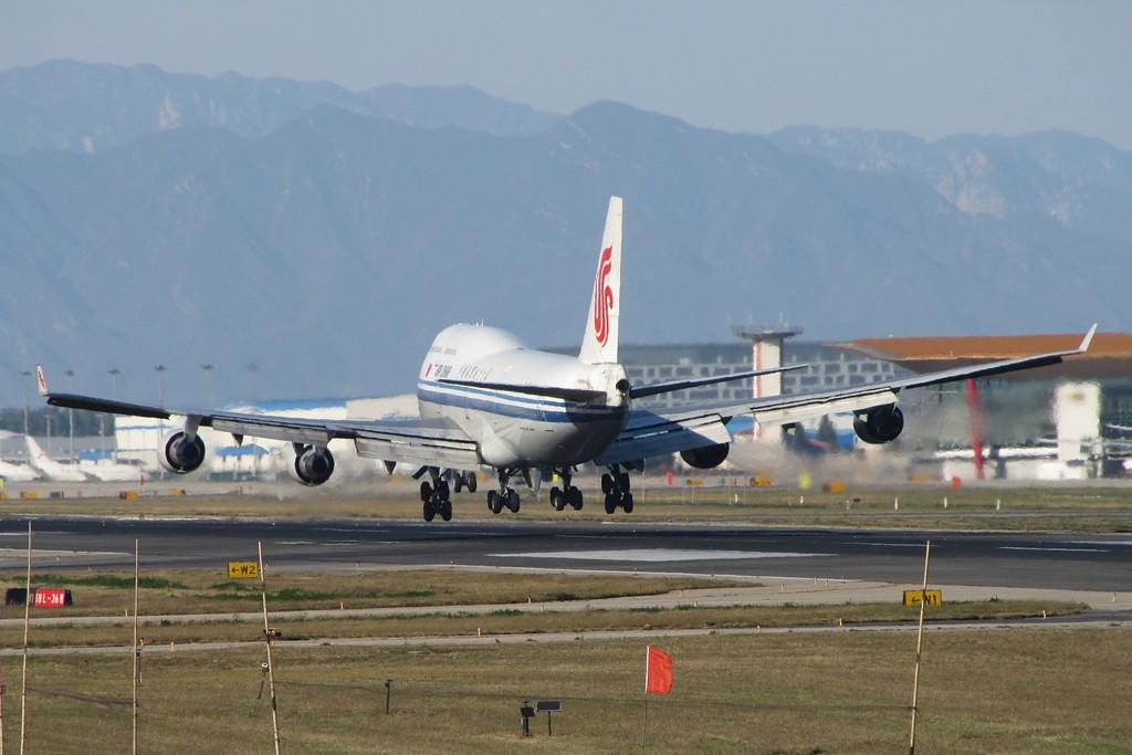 Re:国航737,747,757,767, BOEING 747-4J6 B-2443 中国北京首都机场