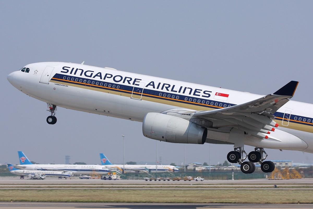[原创]【深圳飞友会】新加坡航空公司采用全新空中客机A330-343E首飞广州航线!!! AIRBUS A330-300 9V-STC 中国广州白云机场