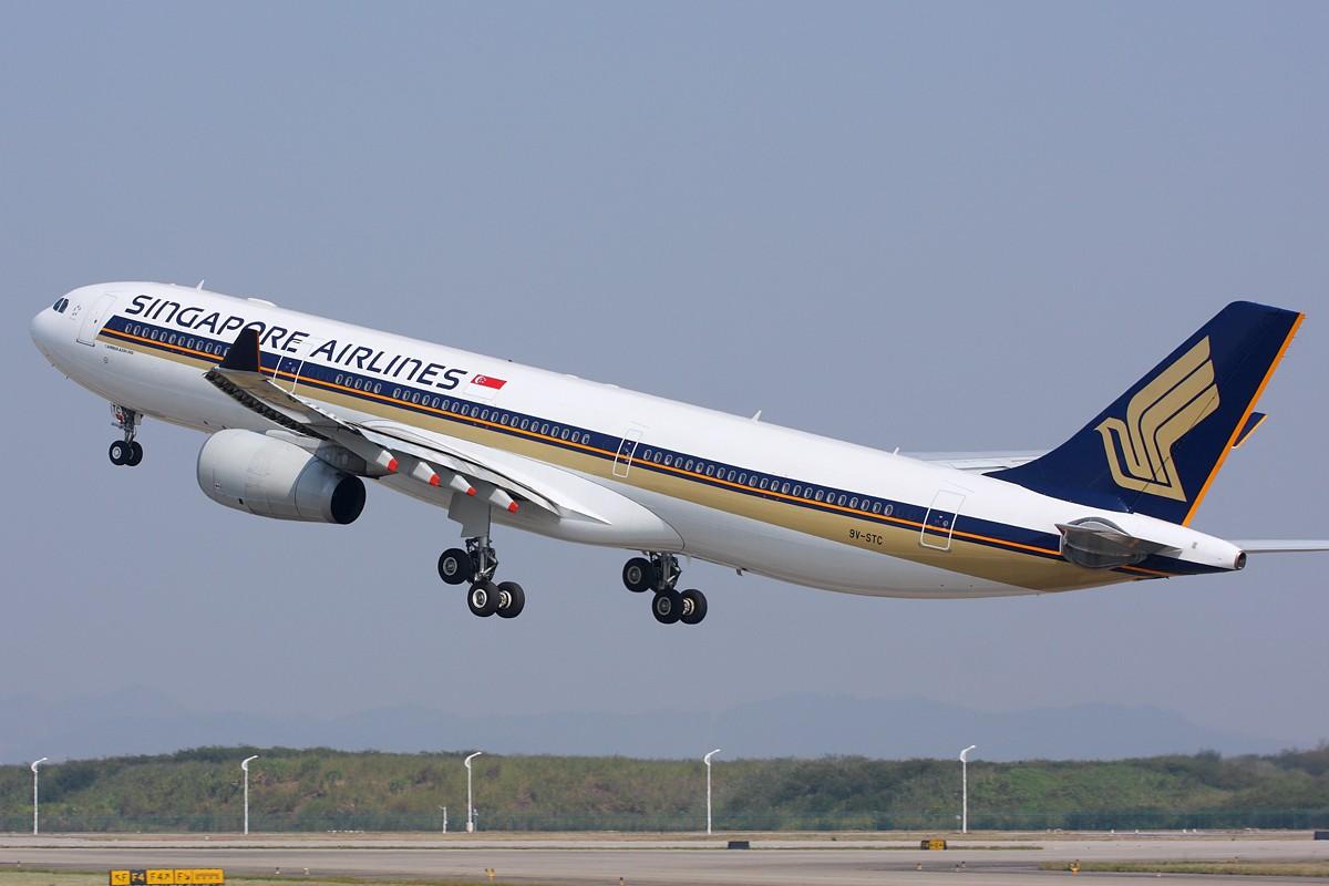 Re:[原创]【深圳飞友会】新加坡航空公司采用全新空中客机A330-343E首飞广州航线!!! AIRBUS A330-300 9V-STC 中国广州白云机场