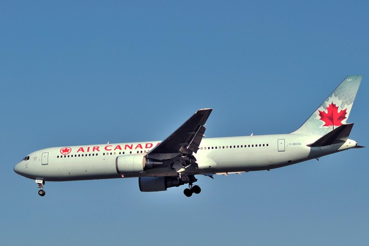 Re:[原创]升767了,发图庆祝,来自PEK东跑,内有外航若干,当然少不了380。 BOEING 767-300 C-GEOQ 中国北京首都机场