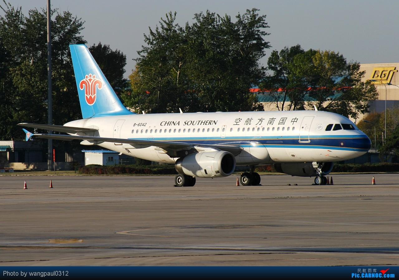 Re:[原创]这次咱也搞点君事题材!当然是大老美的啦! AIRBUS A319-100 B-6042 北京首都国际机场