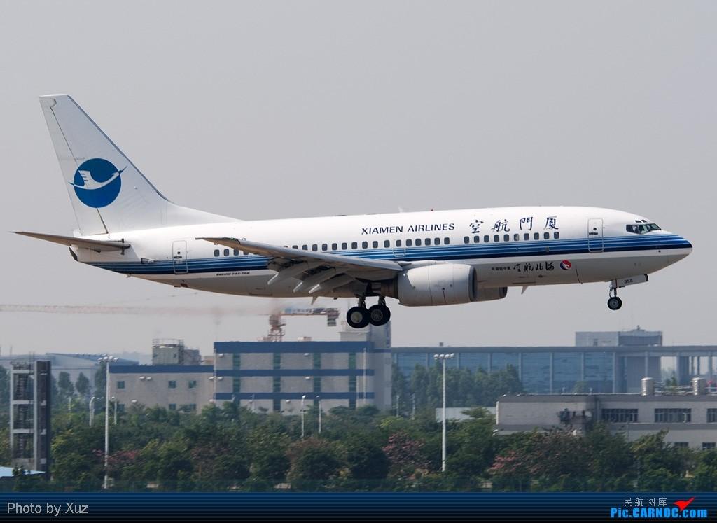 [原创]厦门航空VS河北航空 BOEING 737-700 B-2658 中国广州白云机场