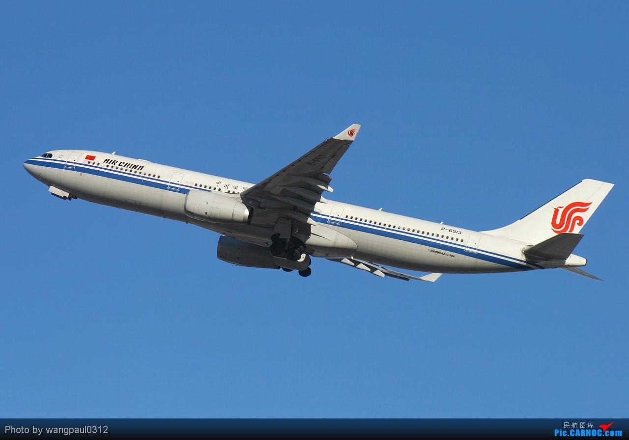 Re:[原创]这次咱也搞点君事题材!当然是大老美的啦! AIRBUS A330-300 B-6513 中国北京首都机场