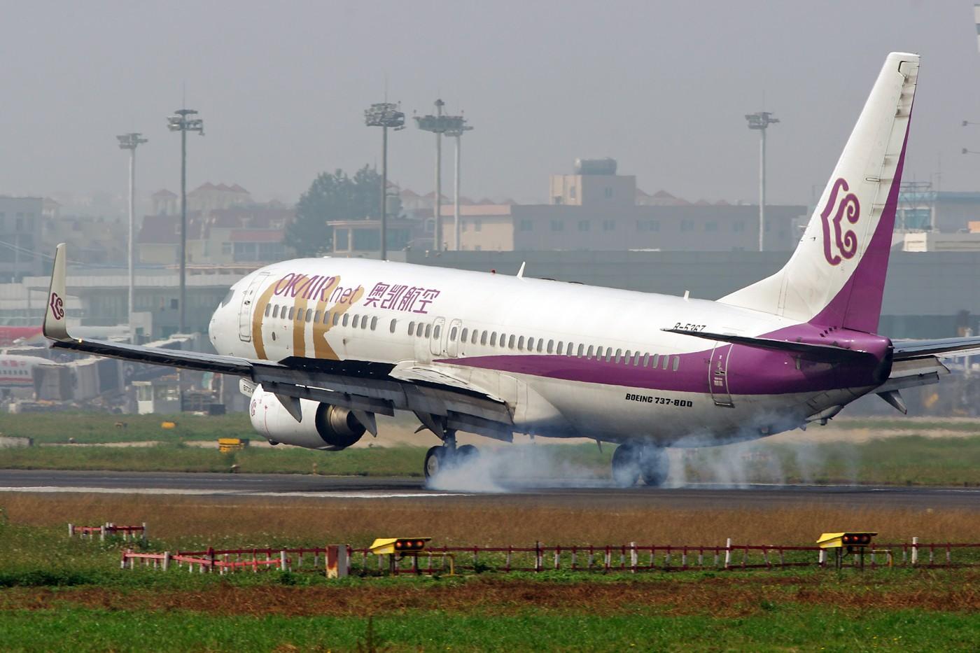 Re:[原创]换个角度、换种天气——非典型的KMG BOEING 737-800 B-5367 中国昆明巫家坝机场