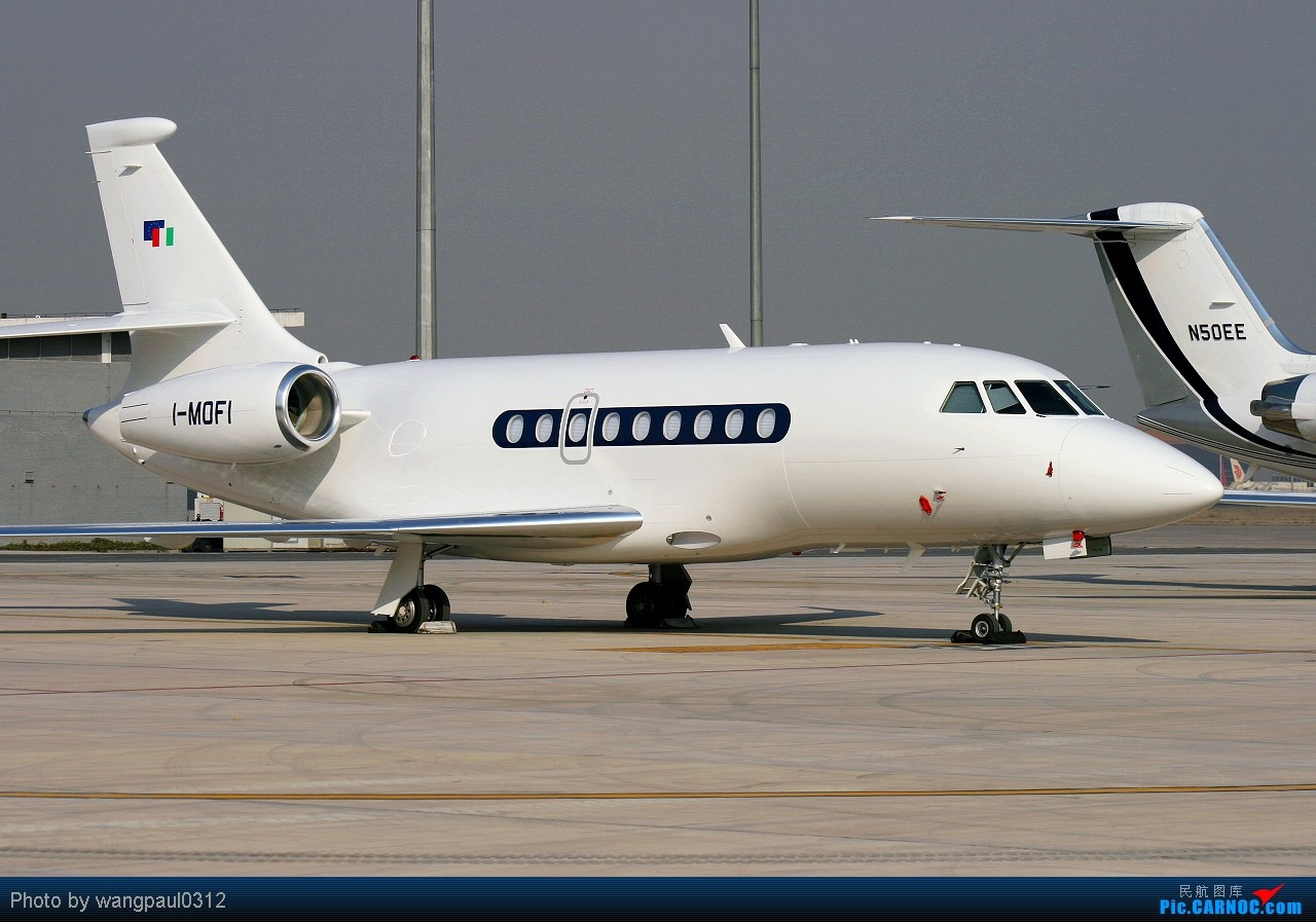 Re:[原创]意共出身的现任意大利总统乔治·纳波利塔诺访华砖机 DASSAULT FALCON 2000LX I-MOFI 北京首都国际机场