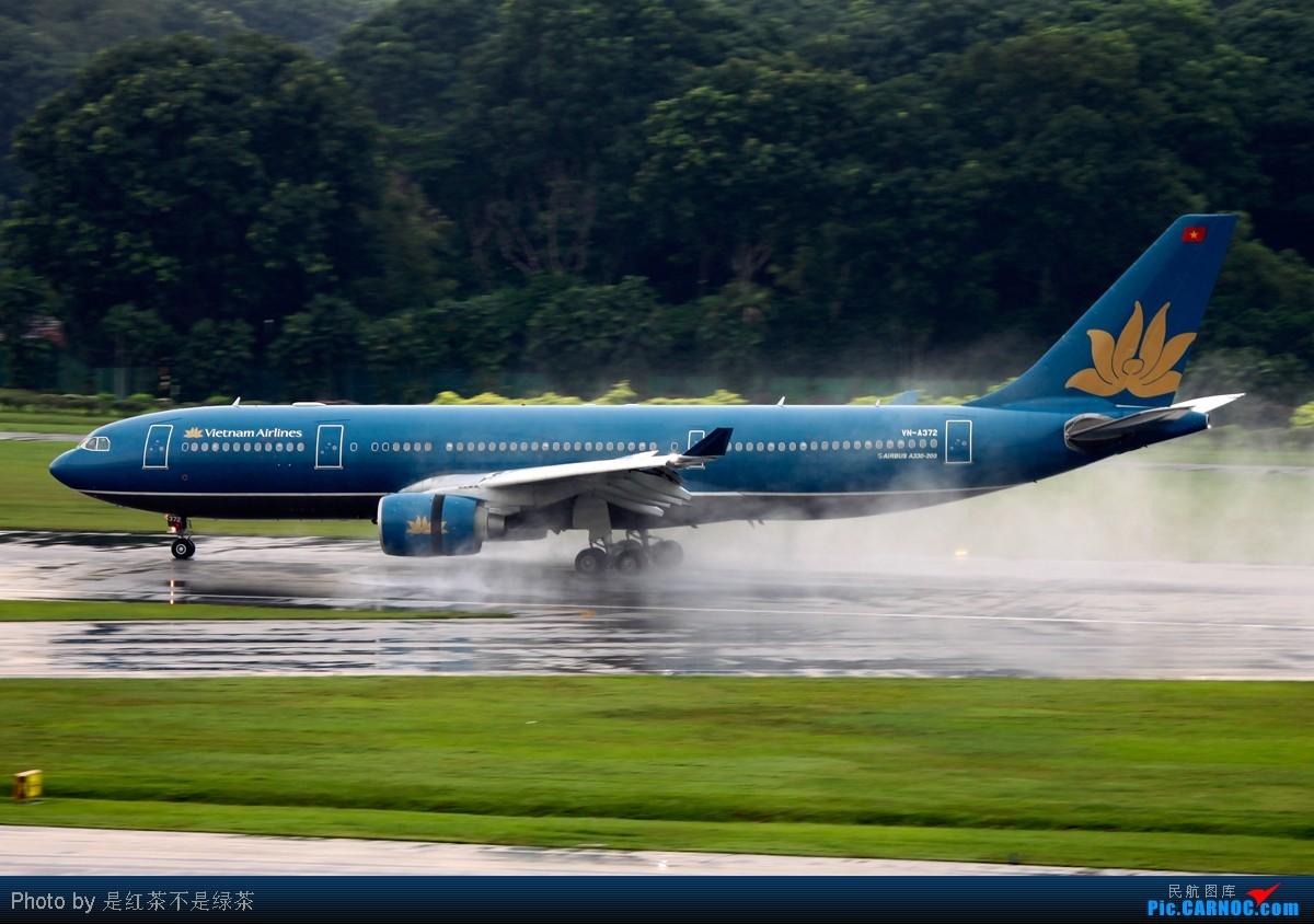 Re:[原创]【红茶拍机】十张照片 十二架飞机 起飞 降落 滑行 牵引——这里是新加坡樟宜国际机场 口味稍重 敬请谅解! AIRBUS A330-200 VN-A372 新加坡樟宜机场