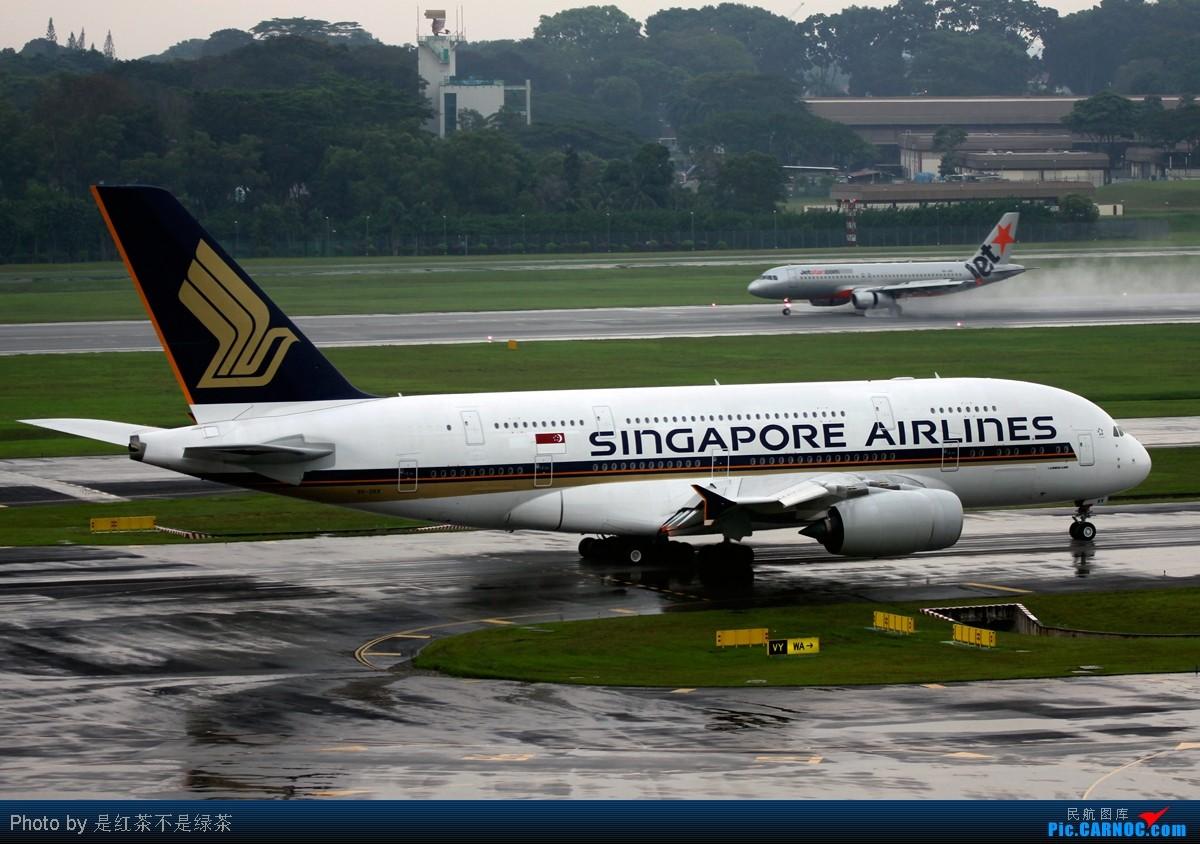 Re:[原创]【红茶拍机】十张照片 十二架飞机 起飞 降落 滑行 牵引——这里是新加坡樟宜国际机场 口味稍重 敬请谅解! AIRBUS A380-800 9V-SKK 新加坡樟宜机场