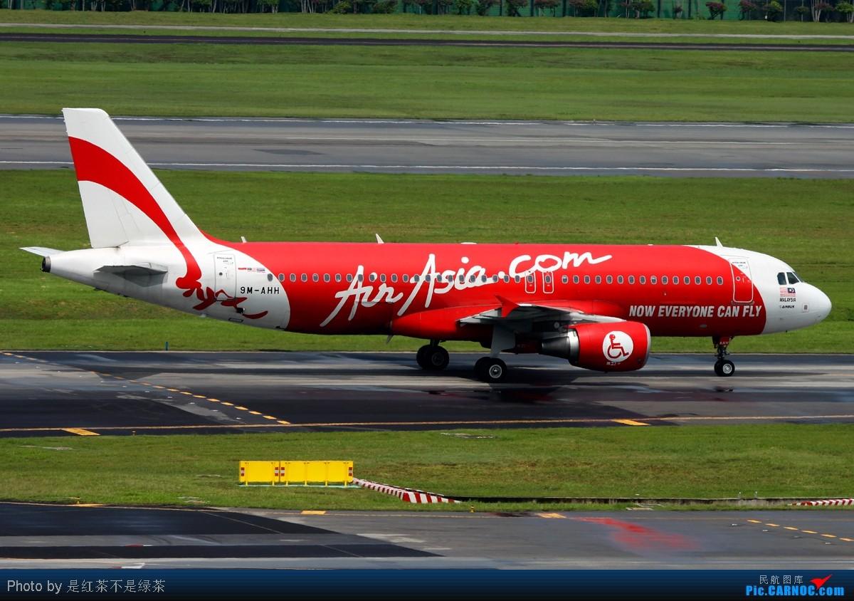 Re:[原创]【红茶拍机】亚航专辑——拍了这么多亚航居然没有一架的涂装是完全一样的! AIRBUS A320-200 9M-AHH 新加坡樟宜机场