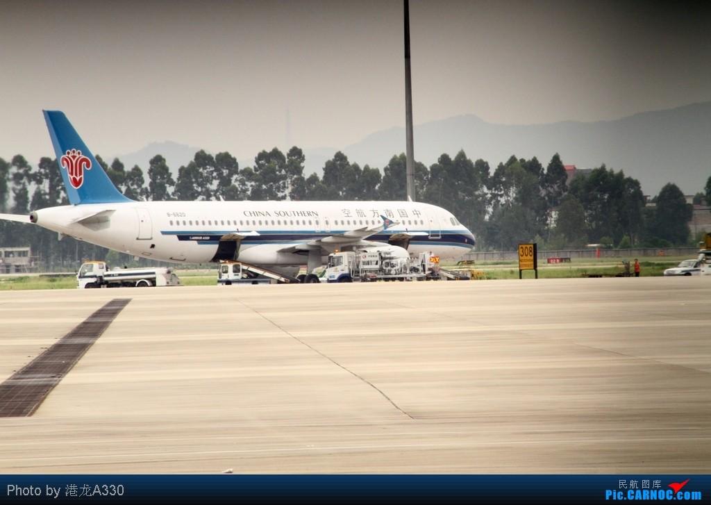 Re:[原创]【青岛飞友会】【CAN LIVING】 好吧,我承认我不会PS,就让光影出来的烂片交代出着宁静的早晨 (片子未经处理请勿骂死我 好机子,烂技术) 你好,福娃 AIRBUS A319-100 B-6220 中国广州白云机场