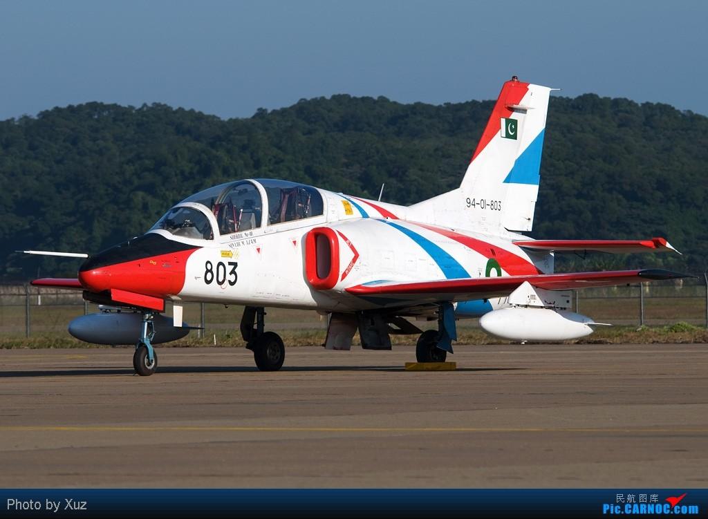 Re:[原创]珠海航展2010-FC-1/K-8/ARJ21 K-8 803 中国珠海三灶机场