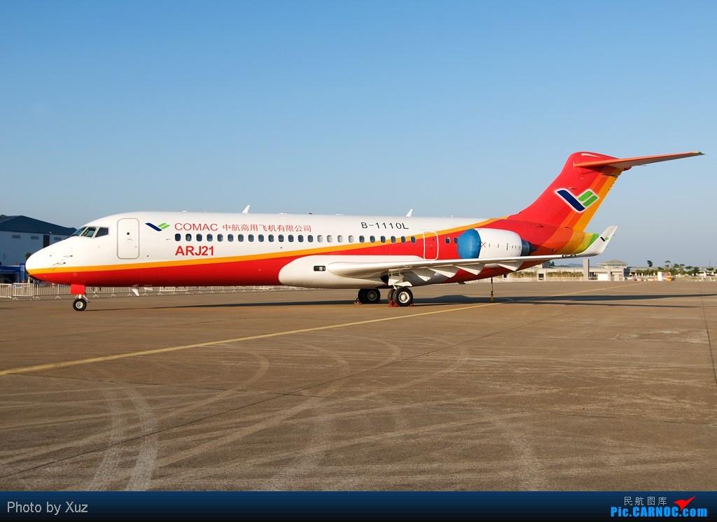 Re:[原创]珠海航展2010-FC-1/K-8/ARJ21 ARJ-21 B-1110L 中国珠海三灶机场