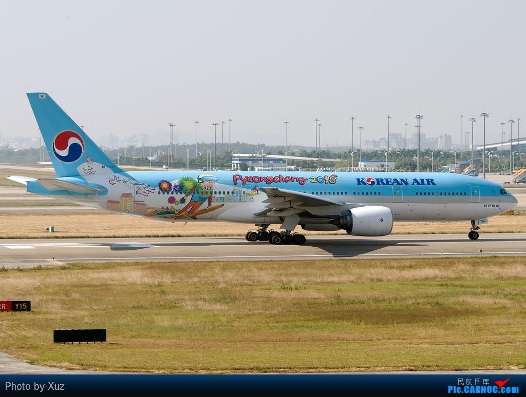 Re:[原创]祝亚运开幕-开幕前一日 BOEING 777-200 HL7752 中国广州白云机场