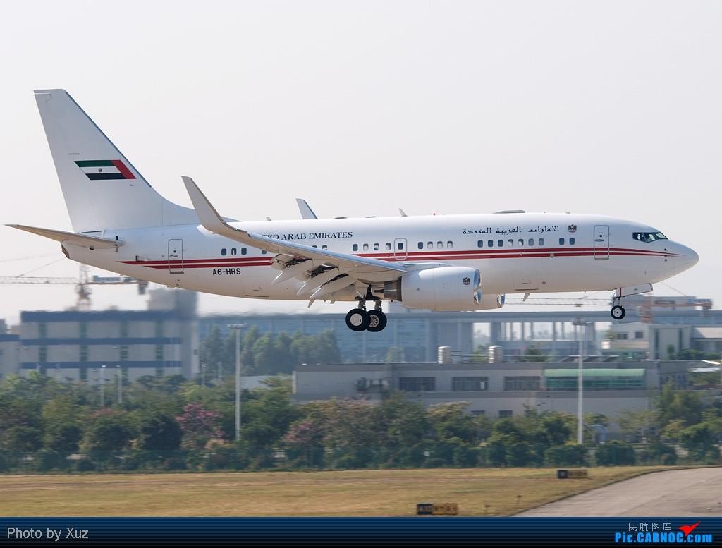 Re:[原创]祝亚运开幕-开幕前一日 BOEING BBJ A6-HRS 中国广州白云机场