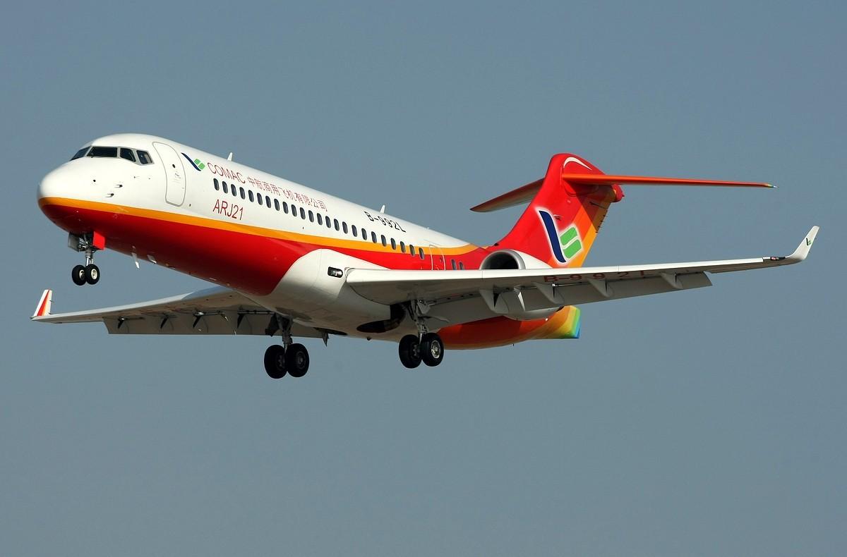 微�y.��b�9l#��$z)_漂亮的机机,为国产飞机自豪! arj21 b-992l 中国沈阳桃仙机场