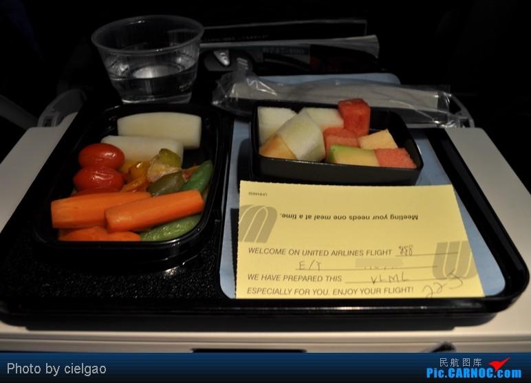 Re:[原创]我的首次环球飞行,星空联盟环球套票,PEK-SFO-AUS-IAH-CUN-CLT-FRA-NRT-PEK,旅程进行中,敬请持续支持 BOEING 747-400 N105UA