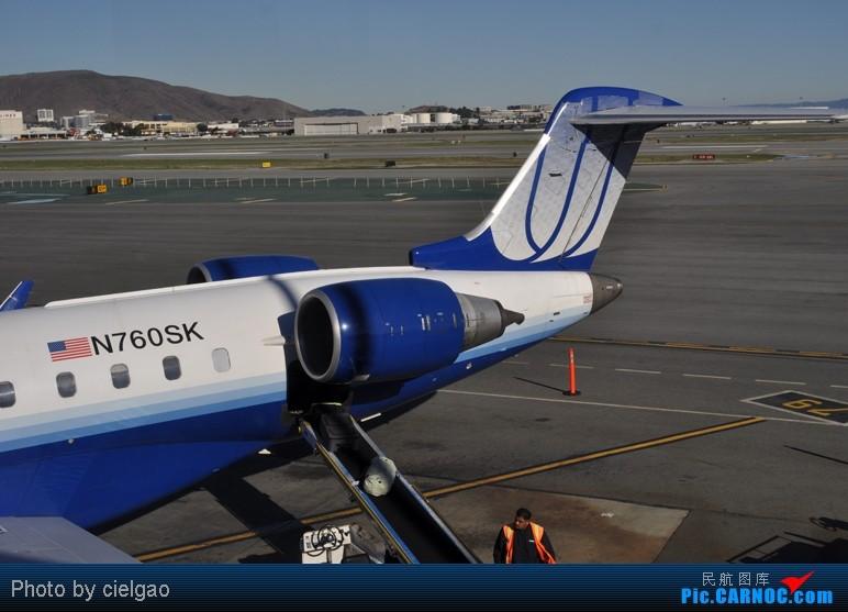 Re:[原创]我的首次环球飞行,星空联盟环球套票,PEK-SFO-AUS-IAH-CUN-CLT-FRA-NRT-PEK,旅程进行中,敬请持续支持 CRJ-700 N760SK SFO