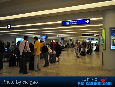 Re:[原创]我的首次环球飞行,星空联盟环球套票,PEK-SFO-AUS-IAH-CUN-CLT-FRA-NRT-PEK,旅程进行中,敬请持续支持!11月27日更新    墨西哥墨西哥城机场