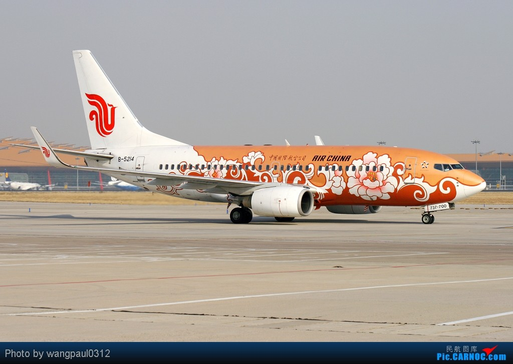 Re:[原创]深圳亚联公务机公司最新一架挑战者605型公务机抵达首都机场 BOEING 737-700 B-5214 北京首都国际机场