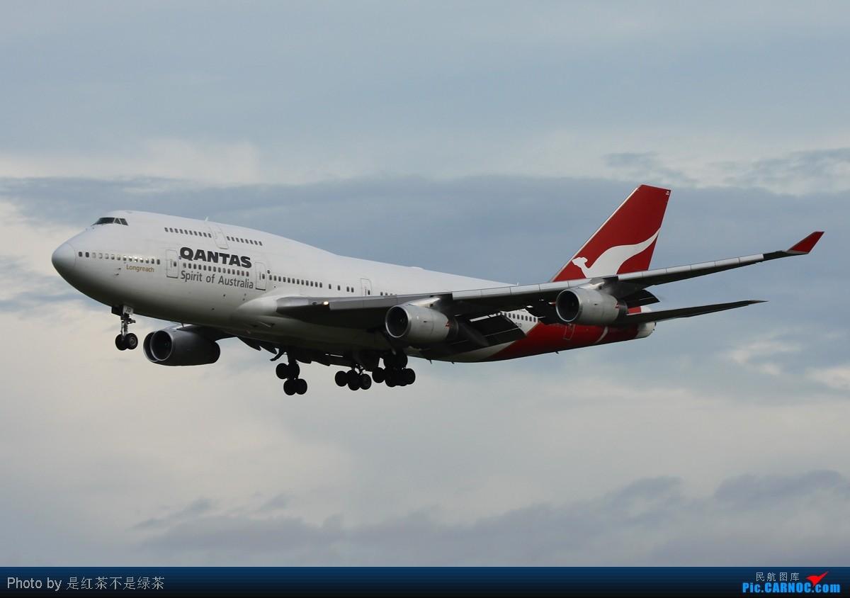 Re:[原创]【红茶拍机】保证全部是波音747客机,但是天真的蛮烂的! BOEING 747-400 VH-OJD 新加坡樟宜机场