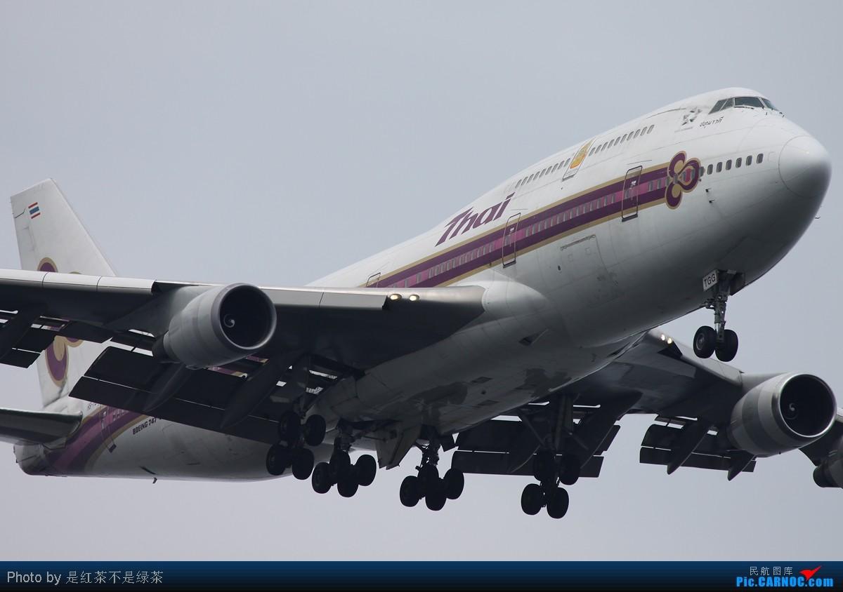 Re:[原创]【红茶拍机】保证全部是波音747客机,但是天真的蛮烂的! BOEING 747-400 HS-TGG 新加坡樟宜机场
