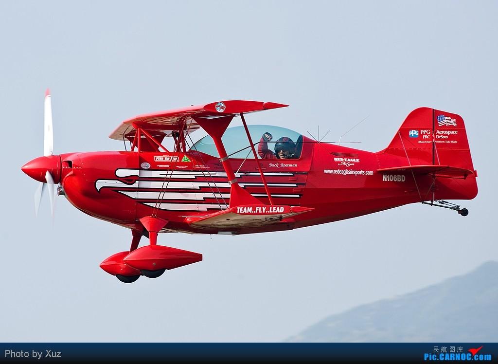 [原创]珠海航展飞行表演  N106BD 中国珠海三灶机场