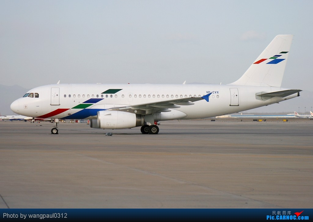 德国大众公司的商务飞机A319再次光临首都机场