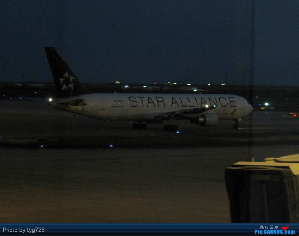 Re:[原创]【絕唱】大猩猩2570于12月8日晚間在虹橋拖入STARCO機庫噴漆 BOEING 767-300 B-2570