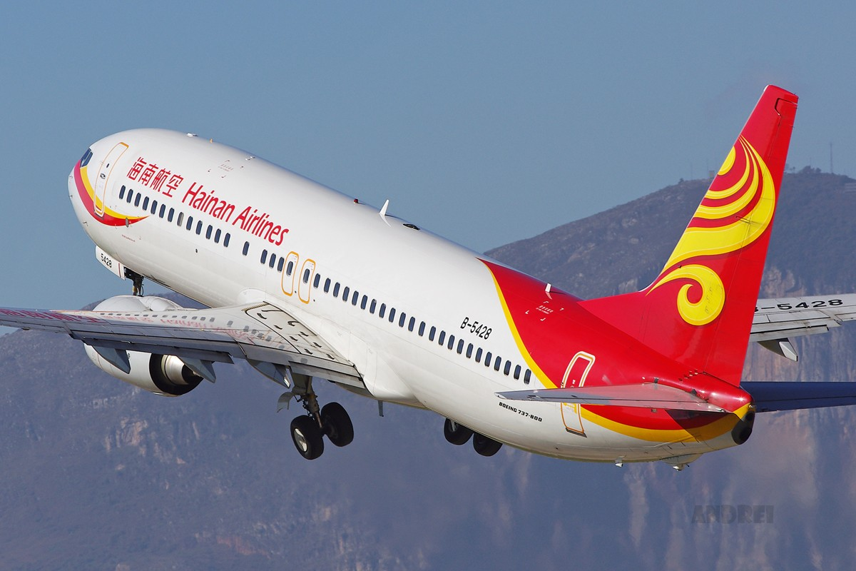 Re:[原创][Andrei]__晴好天气里重温西山映景! BOEING 737-700 B-5248 中国昆明巫家坝机场