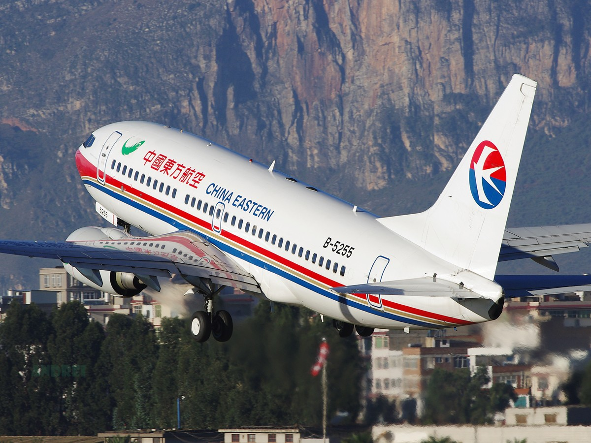 Re:[原创][Andrei]__晴好天气里重温西山映景! BOEING 737-700 B-5255 中国昆明巫家坝机场