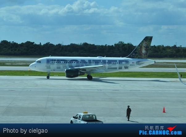 Re:[原创]我的首次环球飞行,星盟环球套票,PEK-SFO-AUS-IAH-CUN-CLT-FRA-NRT-PEK,lz已回京,上班ing,敬请支持更新^_^ AIRBUS A319-100 N910FR CUN
