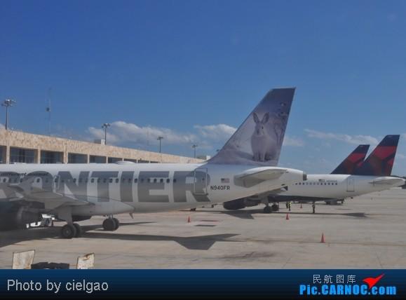 Re:[原创]我的首次环球飞行,星盟环球套票,PEK-SFO-AUS-IAH-CUN-CLT-FRA-NRT-PEK,lz已回京,上班ing,敬请支持更新^_^ AIRBUS A319-100 N940FR CUN