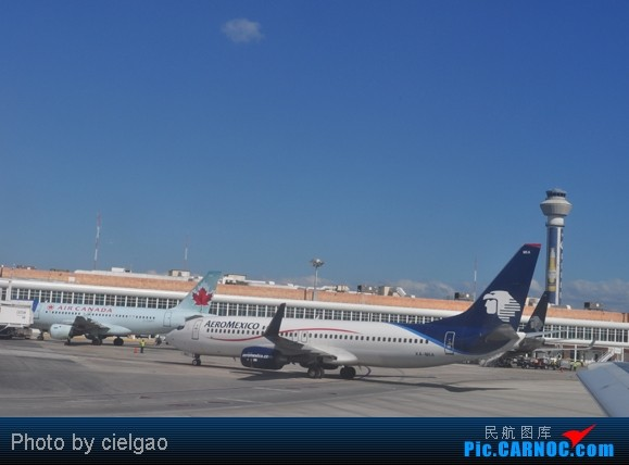 Re:[原创]我的首次环球飞行,星盟环球套票,PEK-SFO-AUS-IAH-CUN-CLT-FRA-NRT-PEK,lz已回京,上班ing,敬请支持更新^_^ BOEING 737-800 XA-MIA CUN
