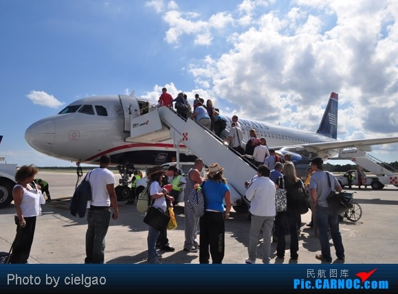 Re:[原创]我的首次环球飞行,星盟环球套票,PEK-SFO-AUS-IAH-CUN-CLT-FRA-NRT-PEK,lz已回京,上班ing,敬请支持更新^_^ AIRBUS A320  CUN