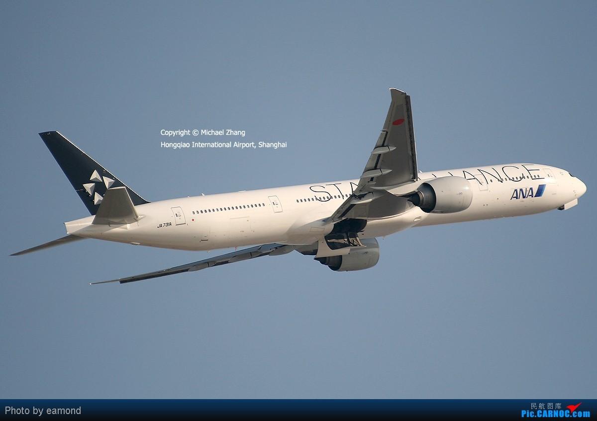 Re:[原创]{SAXET}全球首发:中国东方航空涂装的B-6592 BOEING 777-381/ER JA731A 中国上海虹桥机场