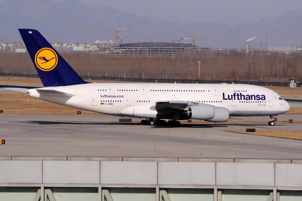 Re:[原创]【TSN飞友会】年底了交作业…… AIRBUS A380 D-AIMA 中国北京首都机场
