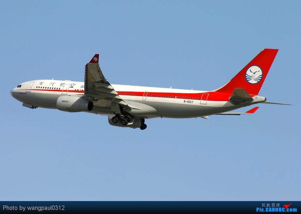 [原创]谁说330非要控?索性多多的拍点330,o(∩_∩)o AIRBUS A330-200 B-6517 北京首都国际机场