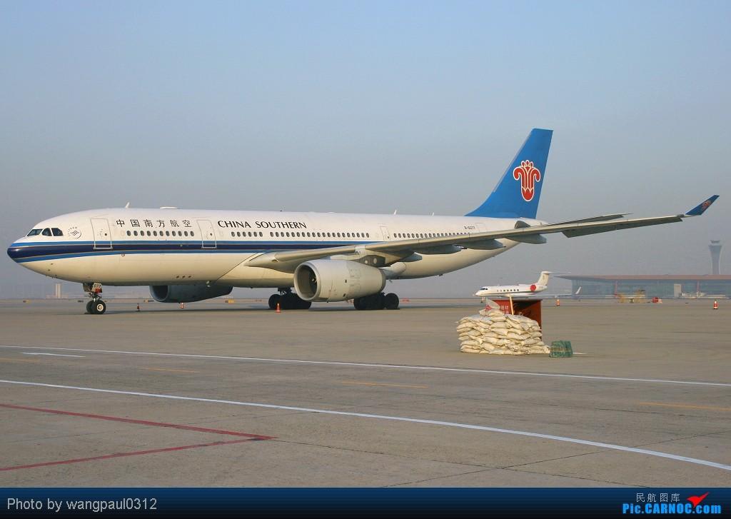 Re:[原创]谁说330非要控?索性多多的拍点330,o(∩_∩)o AIRBUS A330-200 B-6077 北京首都国际机场