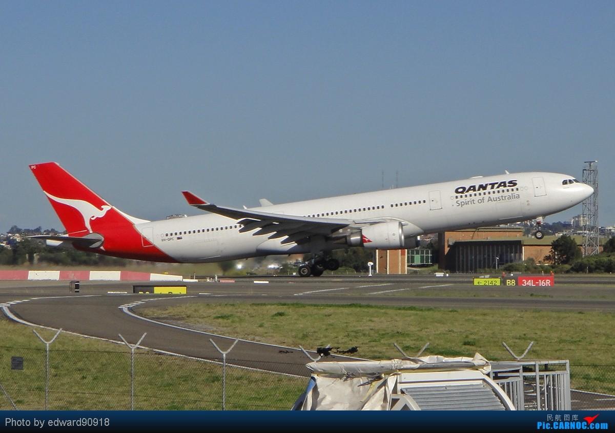 Re:[原创]【SYD Edward】旧图新P,第七弹,QANTAS家族带您告别2010,迎来2011 AIRBUS A330-303 VH-QPC 澳大利亚悉尼金斯福德·史密斯机场