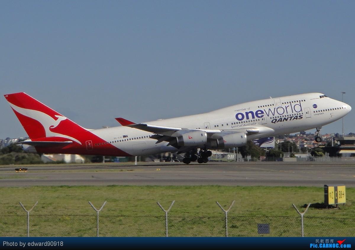 Re:[原创]【SYD Edward】旧图新P,第七弹,QANTAS家族带您告别2010,迎来2011 BOEING 747-438 VH-OJU 澳大利亚悉尼金斯福德·史密斯机场
