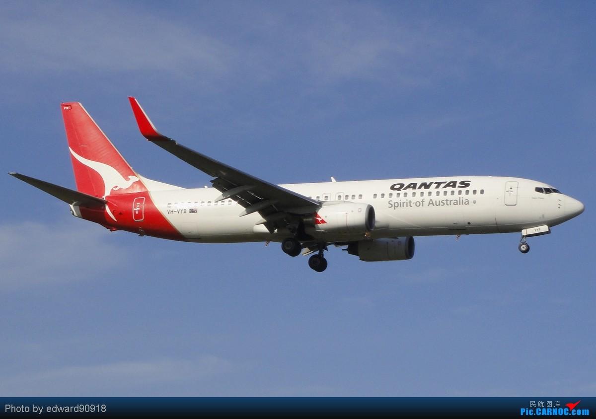 Re:【SYD Edward】旧图新P,第七弹,QANTAS家族带您告别2010,迎来2011 BOEING 747-838 VH-VYB 澳大利亚悉尼金斯福德·史密斯机场