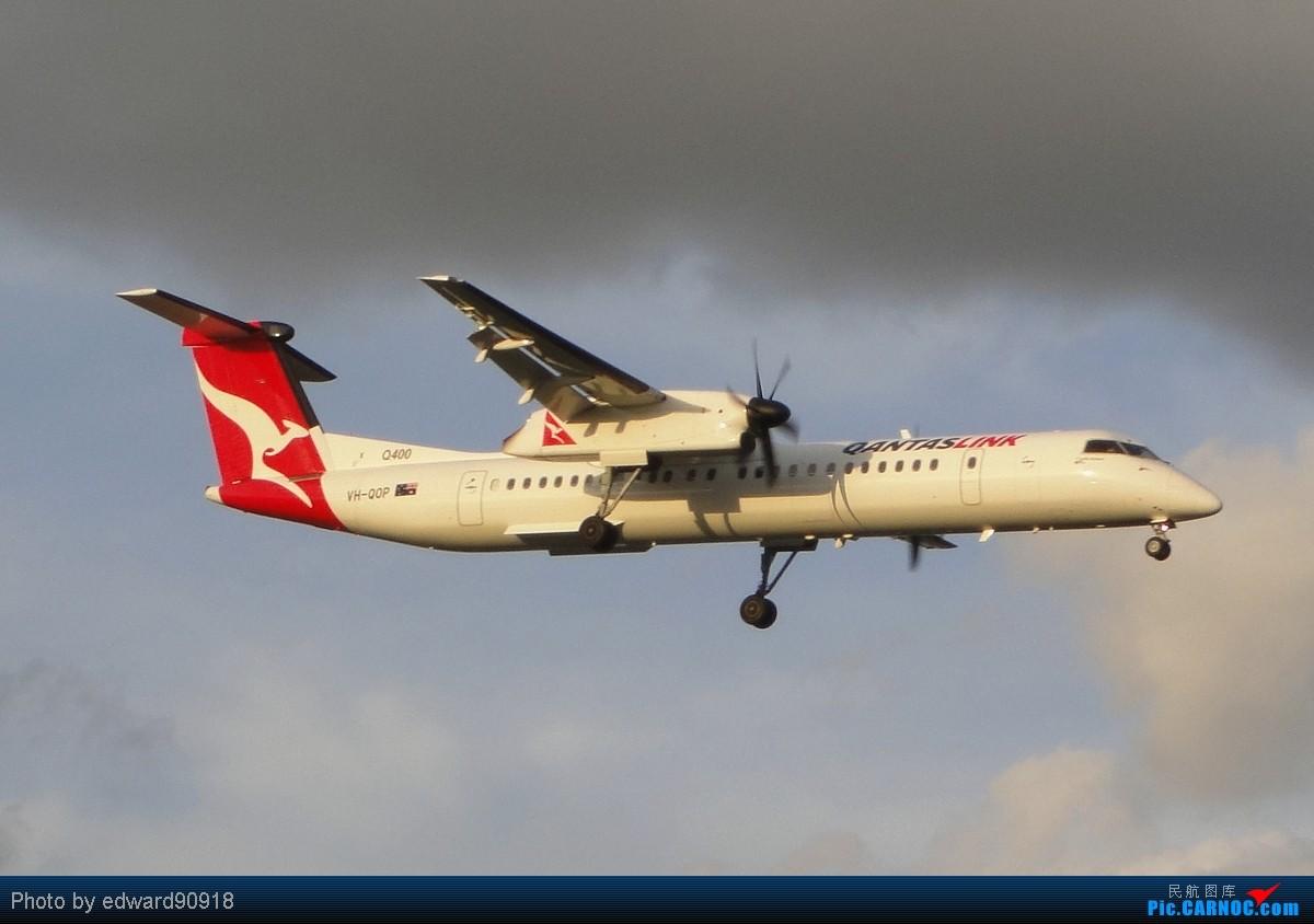 Re:[原创]【SYD Edward】旧图新P,第七弹,QANTAS家族带您告别2010,迎来2011 DE HAVILLAND CANADA DHC-8-402Q DASH 8 VH-QOP 澳大利亚悉尼金斯福德·史密斯机场